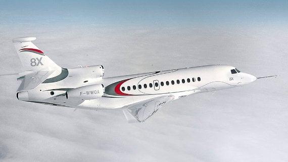global jet capital falcon 8x 570 private jet