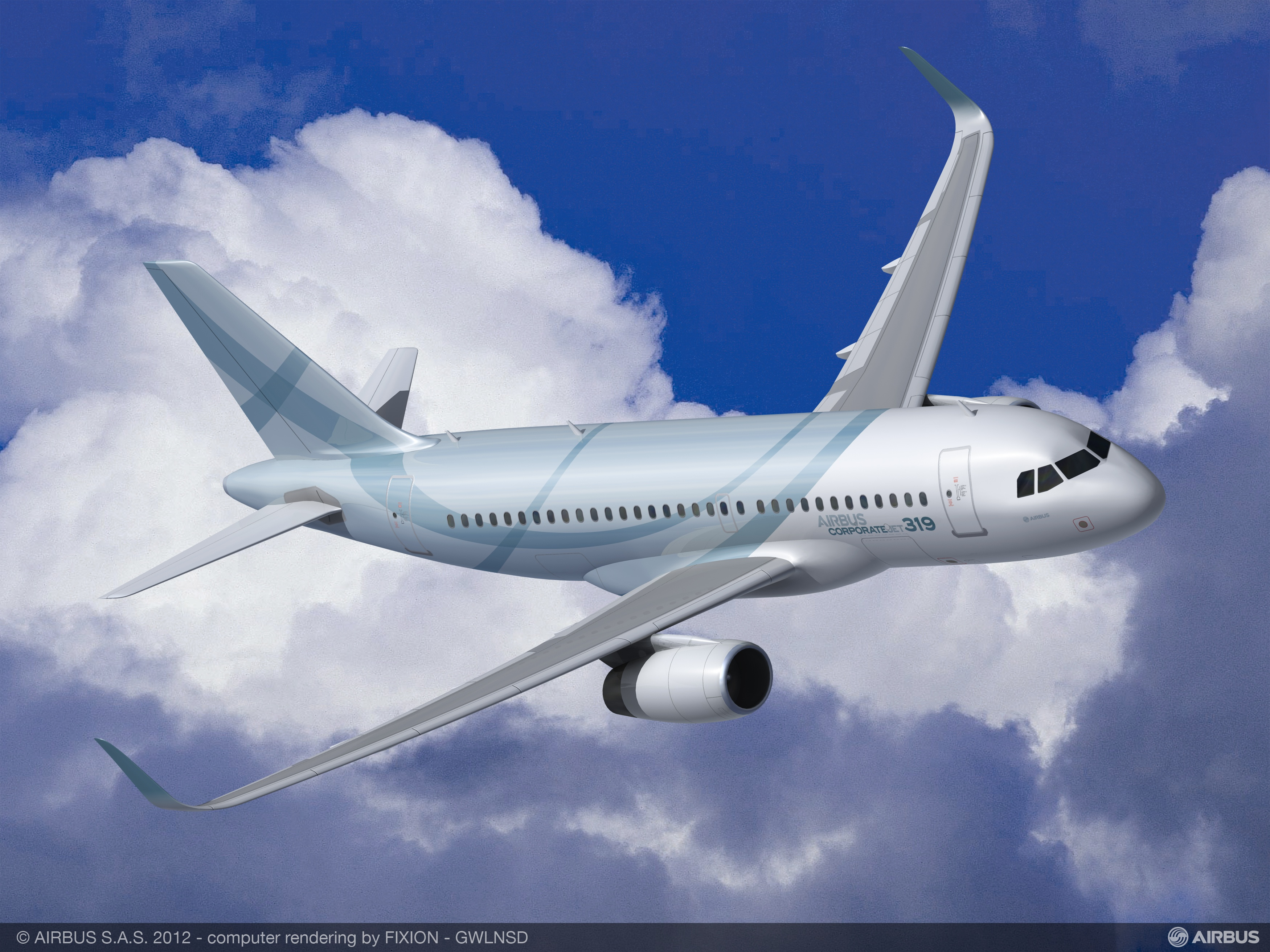 Airbus_ACJ319_Three-quarter_front