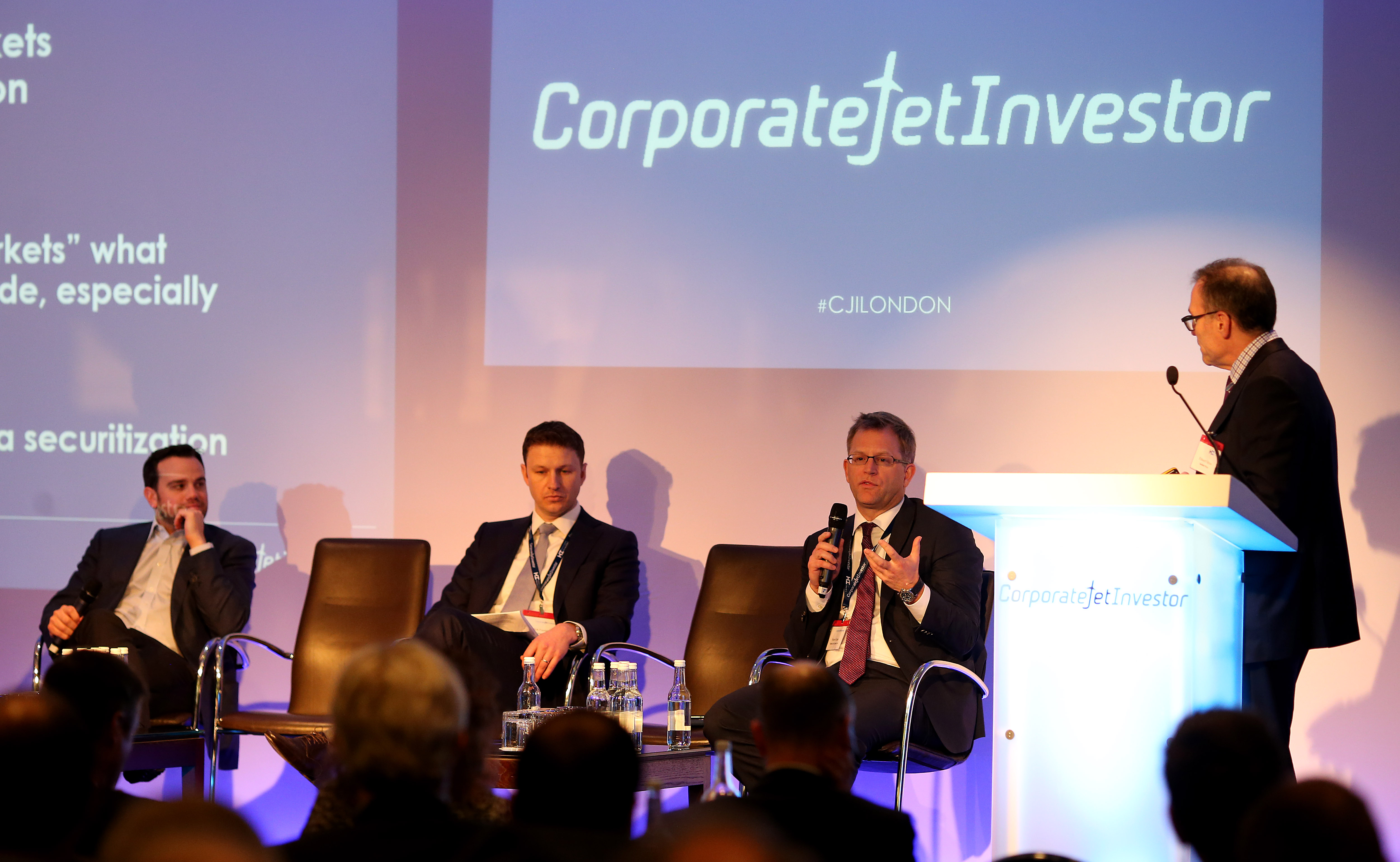 global jet capital's robert gates speaking at corporate jet investor 2016 conference in london