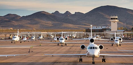 global jet capital private jets on runway