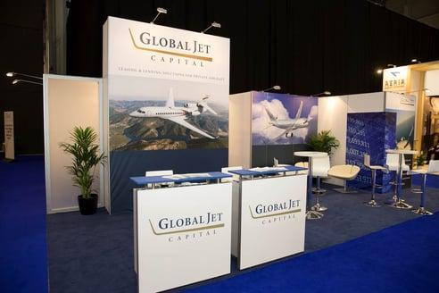 global jet capital ebace 2015 booth
