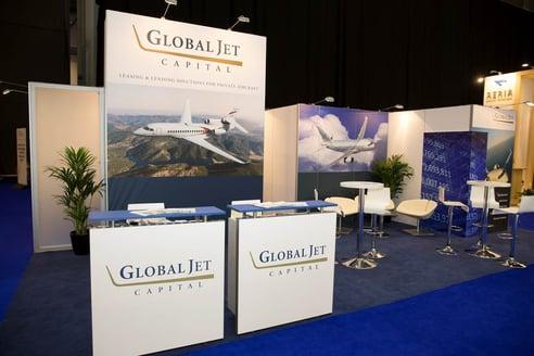 ebae 2015 global jet capital booth