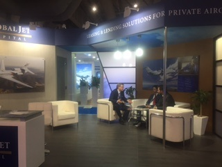 2015 dubai airshow global jet capital booth