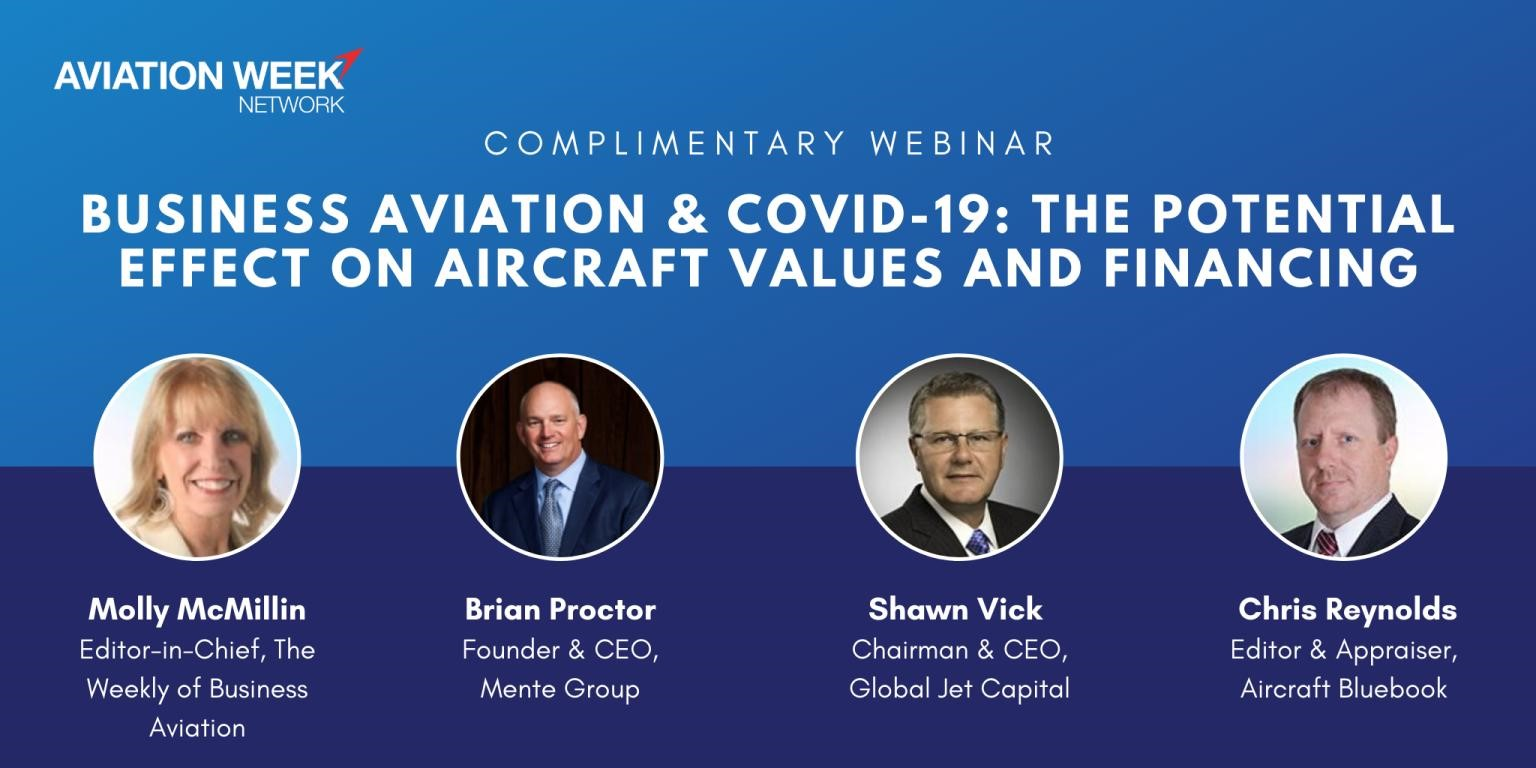 Shawn Vick Joins Aviation Week for Business Aviation & COVID-19 Webinar