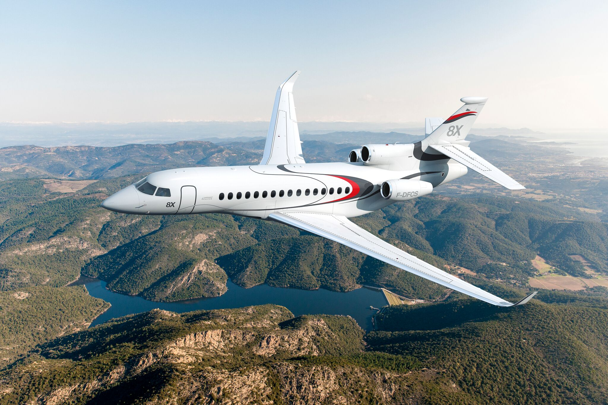global jet capital dassault falcon 8x private jet